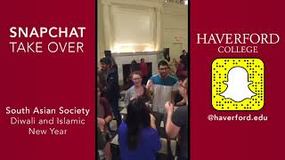 Snapchat: Diwali and Islamic New Year with the South Asian Society