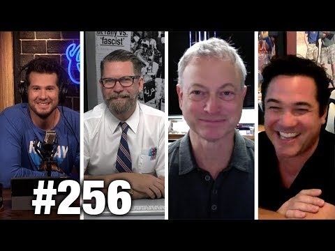 #256 STEPHEN COLBERT IS A COMMUNIST! Gavin McInnes, Dean Cain and Gary Sinise | Louder With Crowder