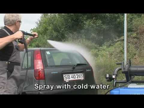 Demonstration of the Nilfisk Alto Neptune 2 Pressure Washer