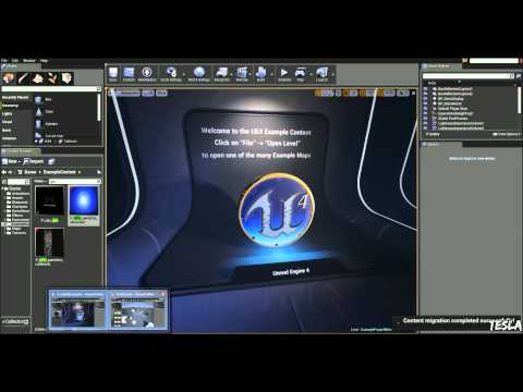 Unreal Engine 4 Tutorial - How to Migrate Assets