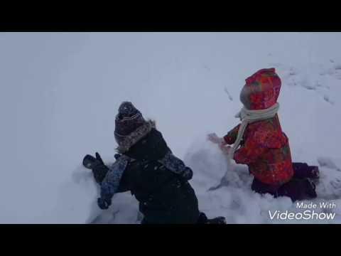 Сделать снеговик