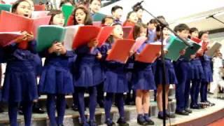 Beacon Hill School Chamber Choir at Festival Walk