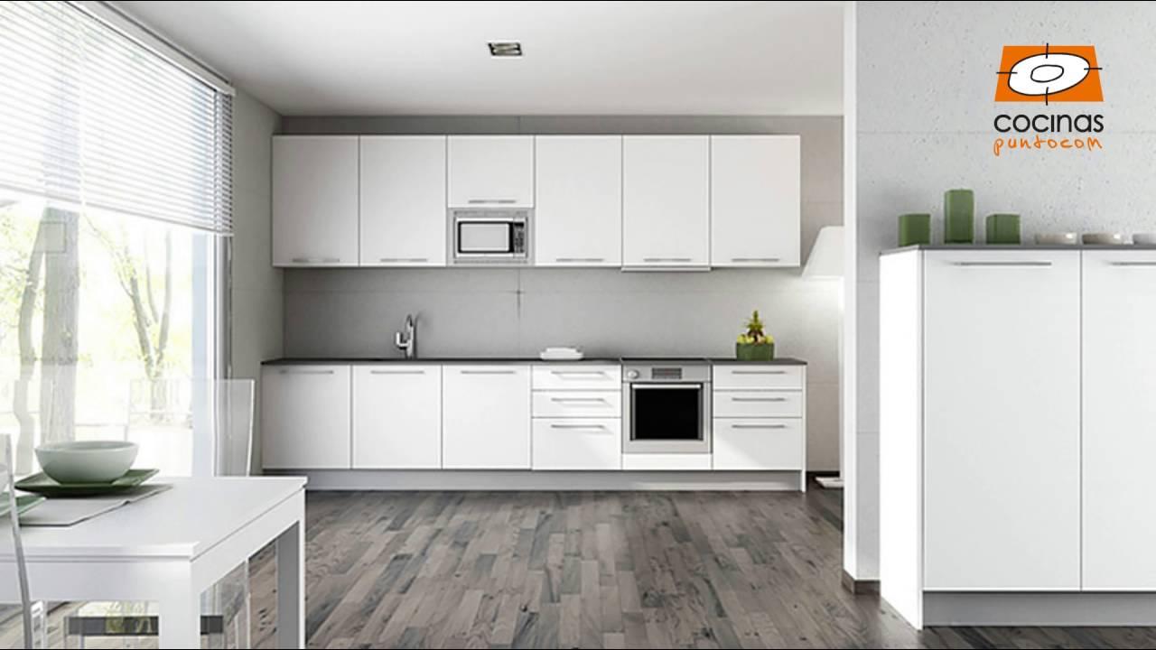 Qu suelo elegir para la cocina youtube - Cocina suelo gris ...