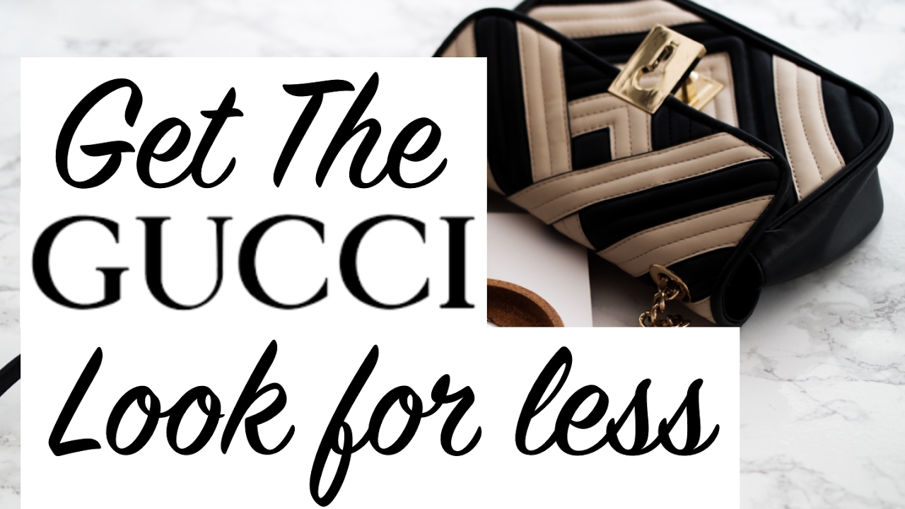 9ad9d9d3ae08b6 Get The Gucci Look For Less | Sinead Crowe - YouTube