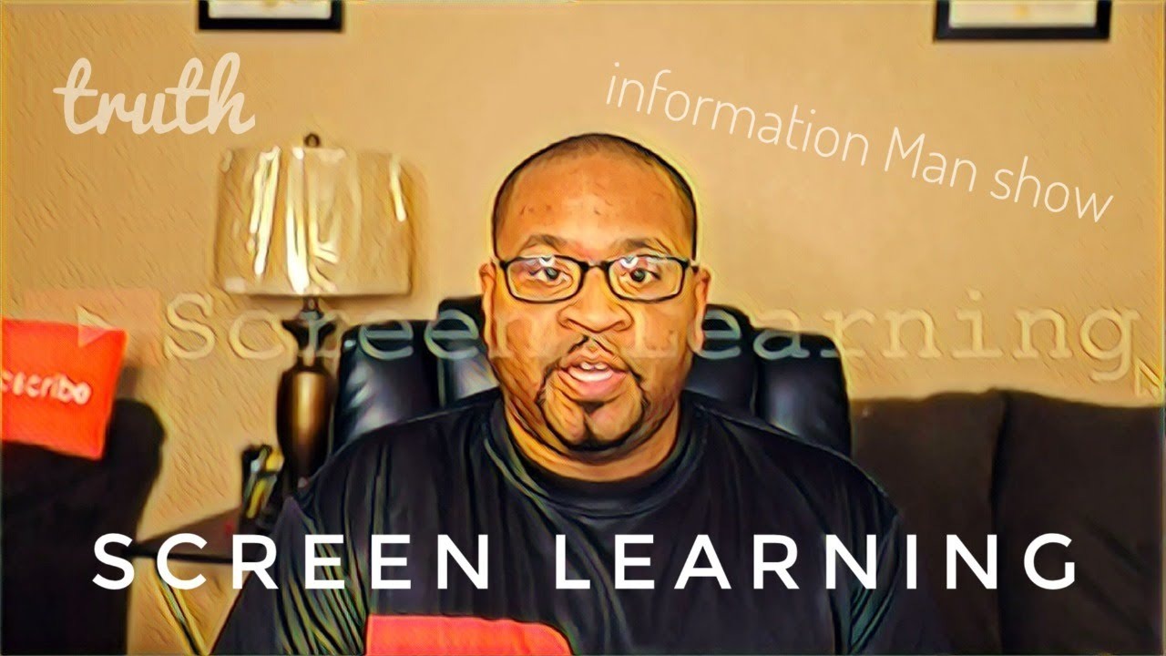 Information Man Show Conversation With Brother Screen Learning  (Podcast)