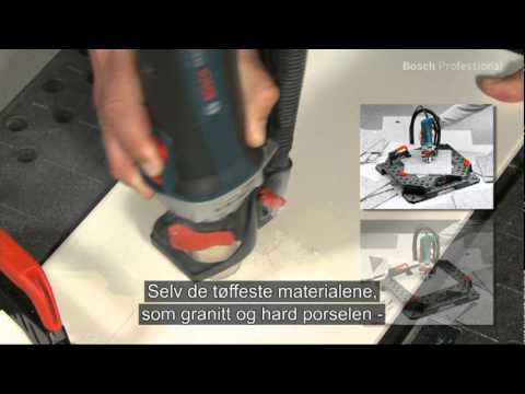 bosch tile router gtr 30 ce gtd 1 norwegian youtube. Black Bedroom Furniture Sets. Home Design Ideas