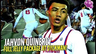 Jahvon Quinerly Brings Out FULL JELLY Package & Takes OVER Dyckman Again!! 🔥🔥