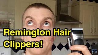 Remington Hair Clipper Set Unboxing & Review!