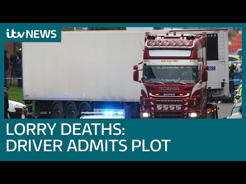 Lorry driver Mo Robinson pleads guilty to assisting illegal immigration | ITV News