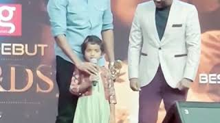 Sivakarthikeyan's Daughter AaradhanaSk sings In Stage
