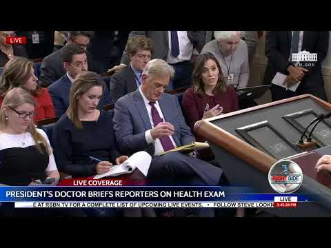 FULL: President Trump's Doctor Gives Results of His Medical Examination 1/16/17