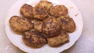 Самые вкусные Куриные котлеты. Видео рецепт куриных котлет