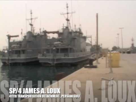 LSV4 JAMES A LOUX (Logistics Support vessel)