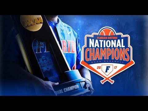 Florida Gators Baseball: National Championship Celebration 6-28-17