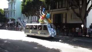 San Francisco Carnaval Grand Parade 2013 Bay Area Rapid Transit BART Mobile