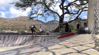 Ian Tamanaha Skateboarding Summer 2015