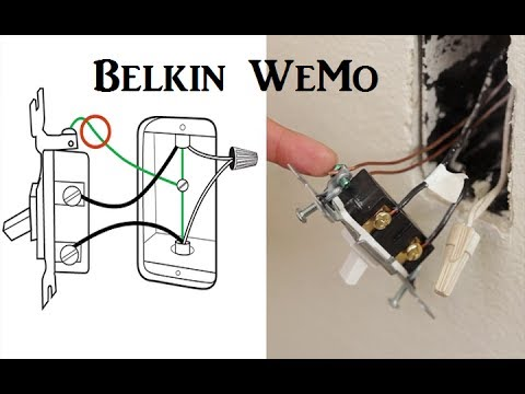 How to Install Belkin WeMo Light Switch YouTube