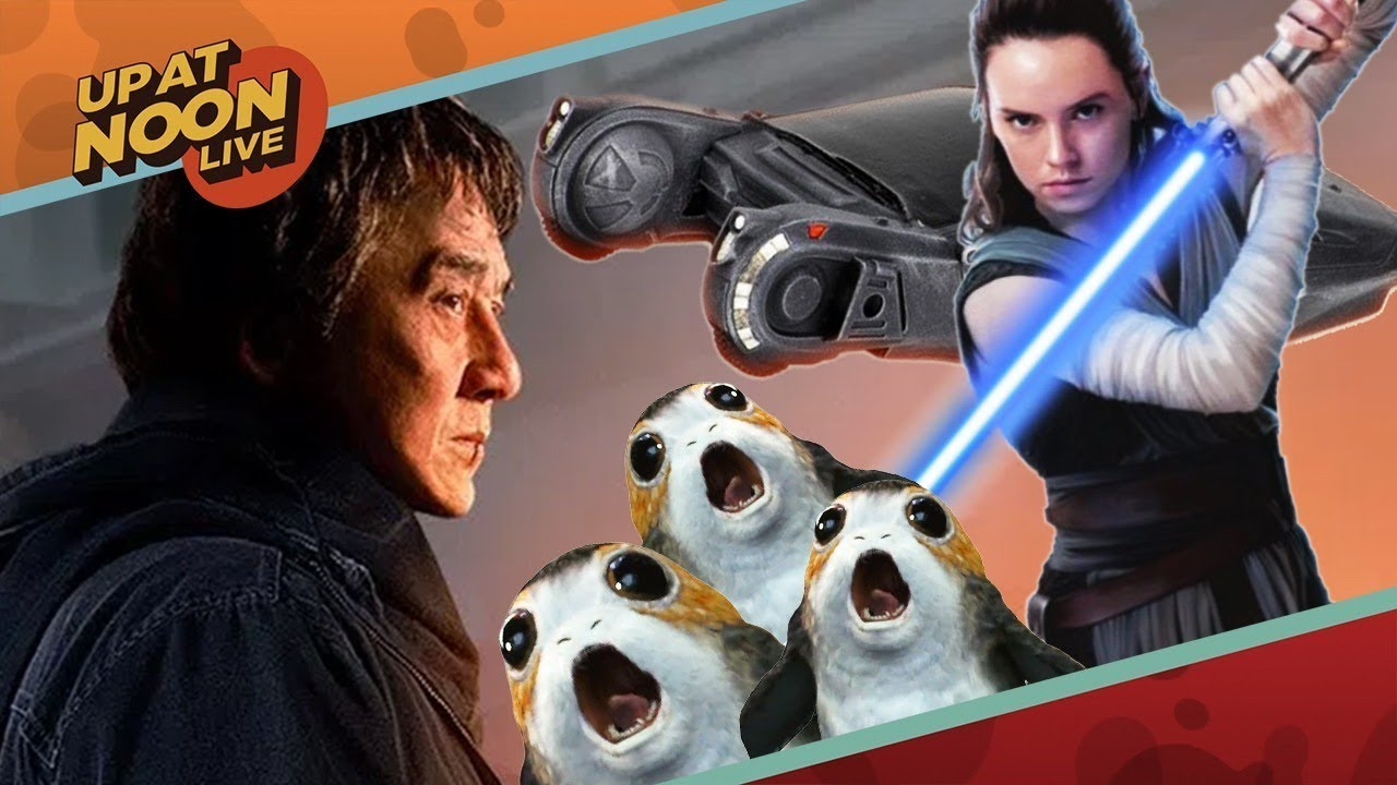 Jackie Chan, The Last Jedi, and Blade Runner 2049 – Up At Noon Live!