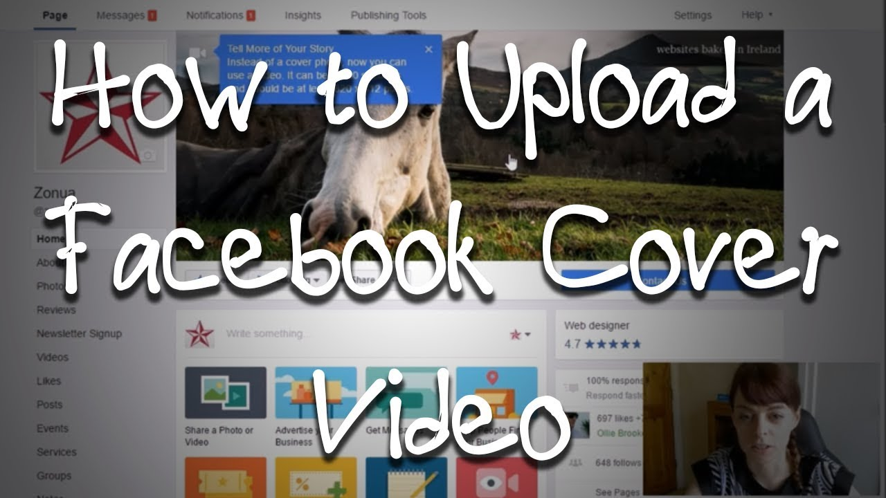 How To Upload A Facebook Cover Video