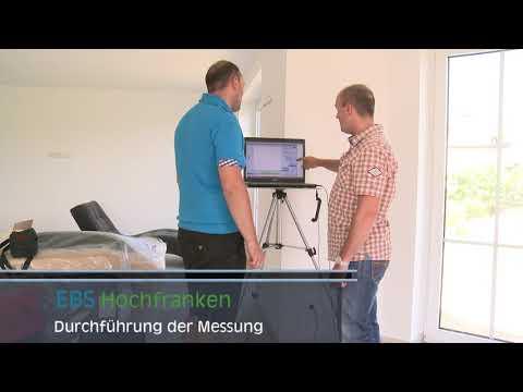 Luftdichtheitsmessung blower door hof nürnberg ebs hochfranken