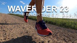 Mizuno Wave Rider 23 Peachtree - First Run