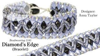 Video Diamond's Edge Bracelet (Tutorial) download MP3, 3GP, MP4, WEBM, AVI, FLV November 2017