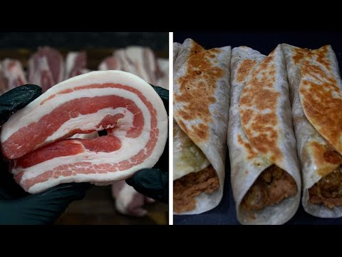 Burritos de Pork Belly | La Capital