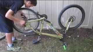 How to change a bike inner tube or tire