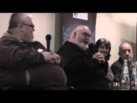 Acting panel at Big Finish Day 4