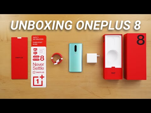 OnePlus 8 Unboxing - What's Included!