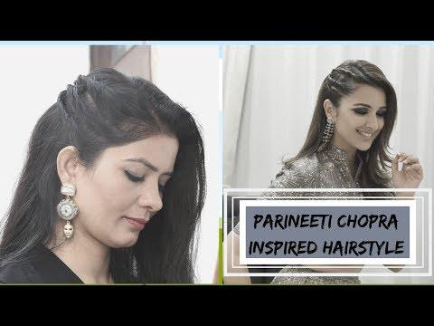 parineeti-chopra-inspired-hairstyle-|-celebrity-inspired-hairstyle-|-cute-hairstyle-for-party