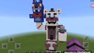 Funtime Freddy in Minecraft Pe (FNAF SL)
