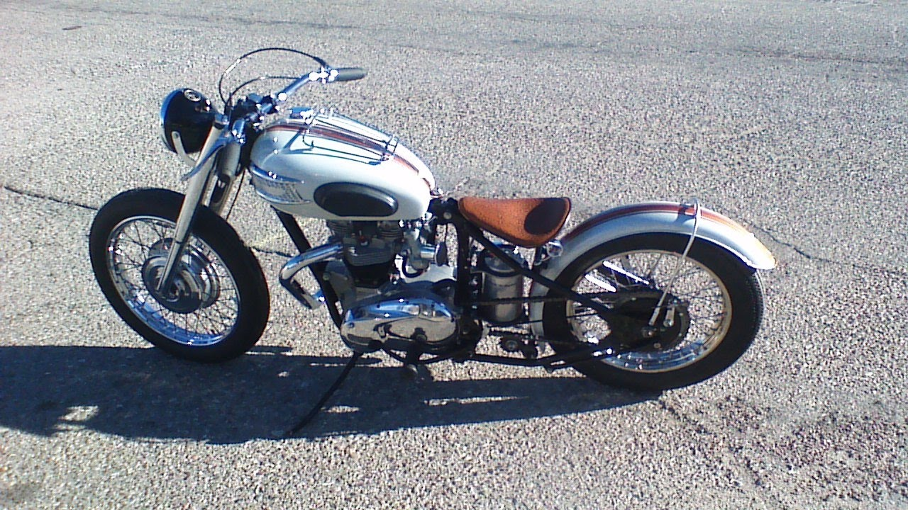 Mayer Brothers 1969 Triumph Bobber 360 View Youtube
