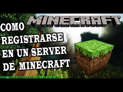 Como Registrarse En Un Server De Minecraft 1.15.2. (Cualquier Versión). 2020 HD