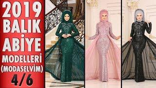 Modaselvim 2019 Balık Abiye Modelleri 4/6 | Fish Model Hijab Evening Dress | #tesettür #abiye #dress