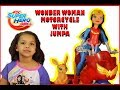 DC SuperHero Girls Wonder Woman Motorcycle with Jumpa Unboxing & Review