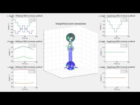 An IMU-to-Body Alignment Method Applied to Human Gait Analysis