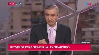 La reflexión de Nelson Castro sobre el debate del aborto