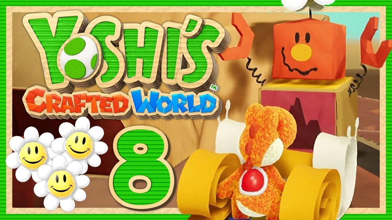 YOSHI'S CRAFTED WORLD #8: Immer Augen auf den Hintergrund! [1080p] ★ Let's Play #1