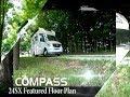 2019 Compass® 24SX RUV™  Class C Motorhome Featured Floor Plan From Thor Motor Coach