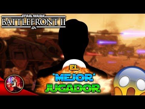 ¡JUEGO contra EL *MEJOR* JUGADOR de Star Wars Battlefront 2! - Battlefront - EA - DICE - ByOscar94 thumbnail