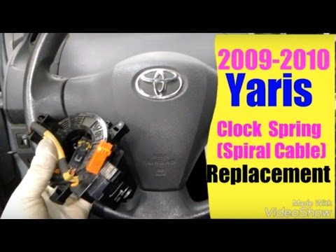 2009 2010 yaris spiral cable clock spring replacement toyota spiral cable replacement toyota camry fuel filter replacement