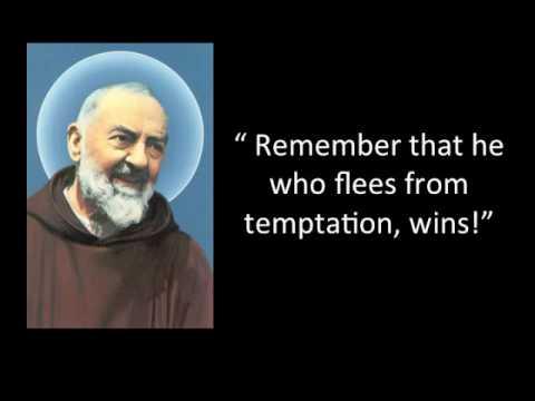 Padre Pio Quotes Padre Pio Quotes 1  Youtube