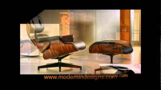 Replica Eames Lounge Chair & Ottoman Sale Reproduction - Modern In Designs