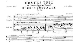 Robert Schumann: Trio nº 1 Op. 63 (1847)