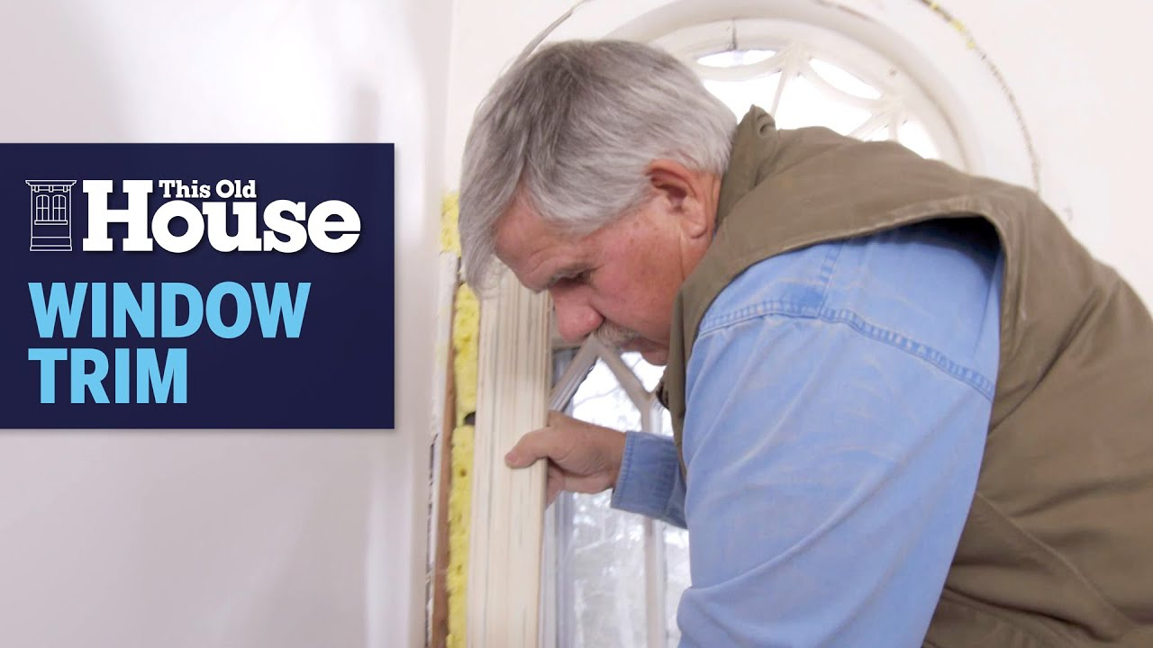 How to Reproduce Historic Window Trim | This Old House
