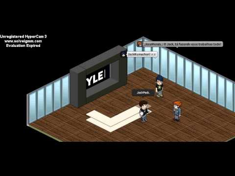 Ensinando como fazer sala vers o habbo youtube for Sala de estar habbo