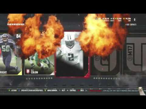 Madden 17 Ultimate Team : Year In Reward Bundle! This Account Is GLITCHY! :: Madden 17 Ultimate Team