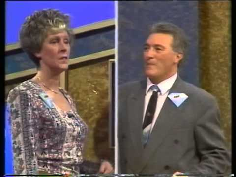 An episode of Strike it Lucky from 1990 So funny, Ethel used as a ventriloquist's dummy