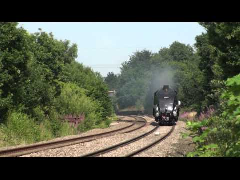UK - 60009 Running Light York to Crewe, 1/8/13